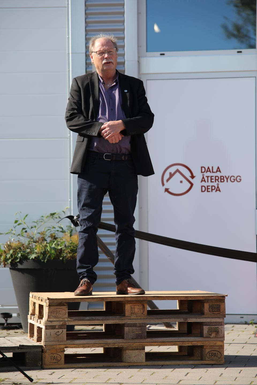 Invigning Dala återbyggdepå
